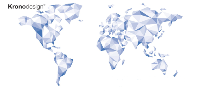 Kronospan Kronodesign Globální kolekce 2018-2022